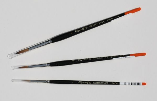 Brushes – Sable (size 1/3/5)
